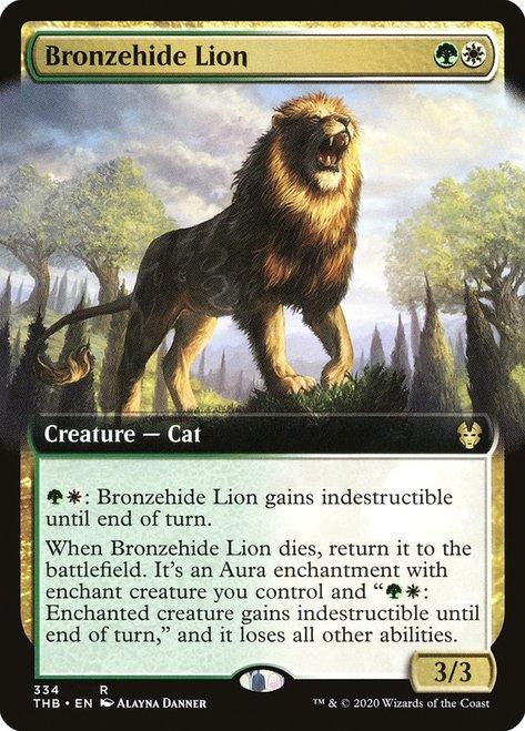 Bronzehide Lion / Extended Art