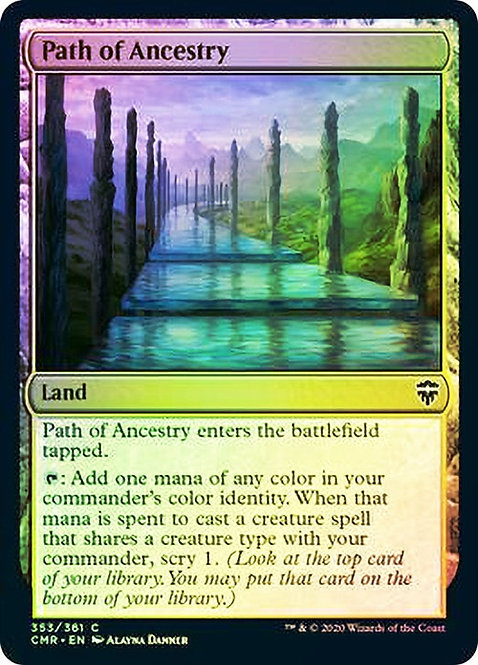 Path of Ancestry (CMR) / Foil