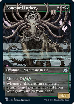 Boneyard Lurker / Alt Art