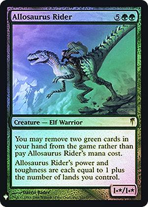 Allosaurus Rider / Foil