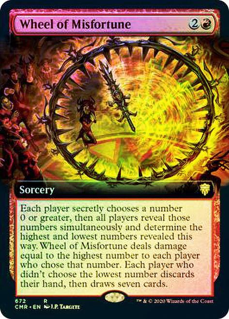 Wheel of Misfortune (Extended Art) / Foil