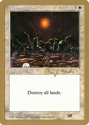 Armageddon - 1998 Brian Hacker (5ED) (SB)