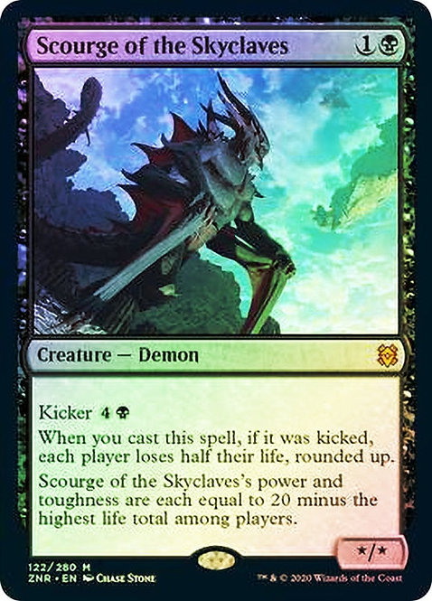 Scourge of the Skyclaves (ZNR) / Foil