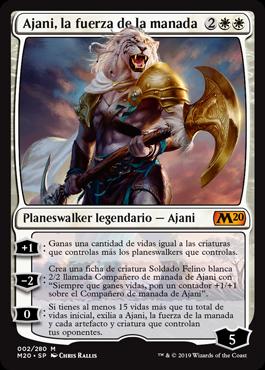 Ajani, Strength of the Pride / Español