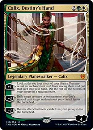 Calix, Destiny's Hand