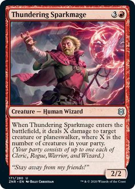 Thundering Sparkmage (ZNR)