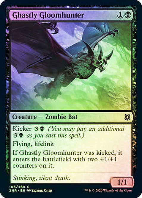 Ghastly Gloomhunter (ZNR) / Foil
