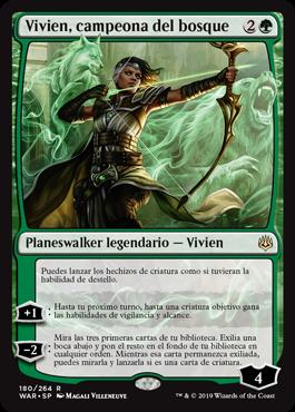 Vivien, Champion of the Wilds / Español