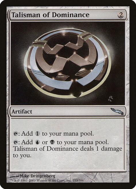 Talisman of Dominance (MRD)