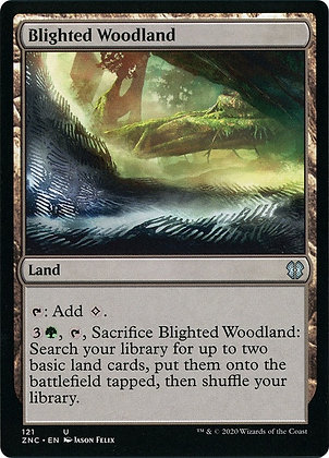Blighted Woodland (ZNC)