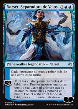 Narset, Parter of Veils / Español