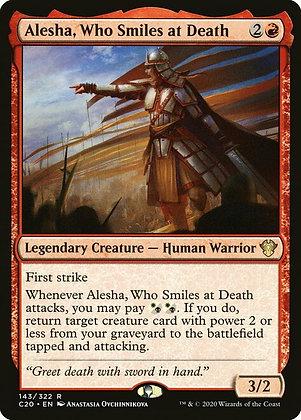 Alesha, Who Smiles at Death (C20)