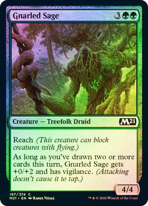 Gnarled Sage (M21) / Foil
