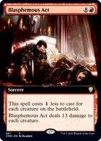 Blasphemous Act (Extended Art)
