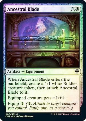 Ancestral Blade (CMR) / Foil