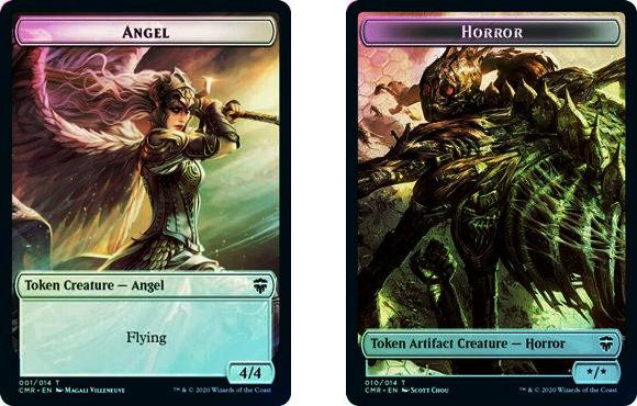 Token (Angel // Horror) / Foil
