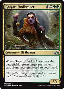 Golgari Findbroker