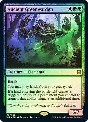 Ancient Greenwarden (ZNR) / Foil