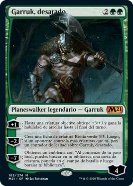 Garruk, Unleashed (M21) / Español