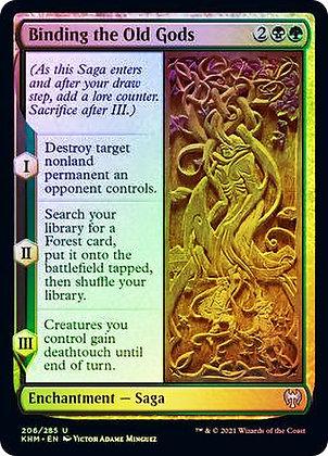 Binding the Old Gods (KHM) / Foil
