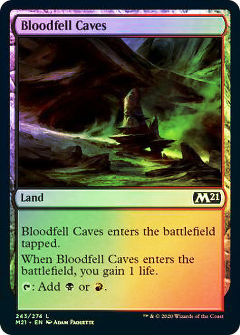 Bloodfell Caves (M21) / Foil