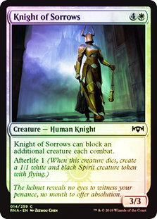 Knight of Sorrows / Foil