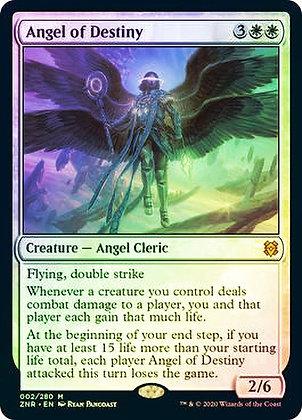Angel of Destiny (ZNR) / Foil