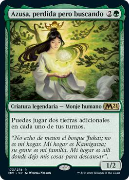 Azusa, Lost but Seeking (M21) / Español