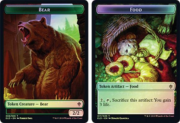 Bear | Food Token (ELD) / Foil