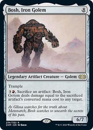 Bosh, Iron Golem (2XM)