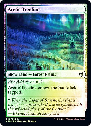 Arctic Treeline (KHM) / Foil