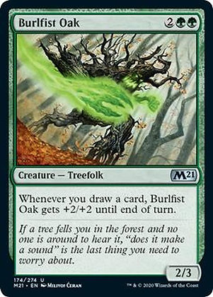Burlfist Oak (M21)