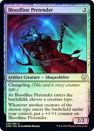 Bloodline Pretender (KHM) / Foil