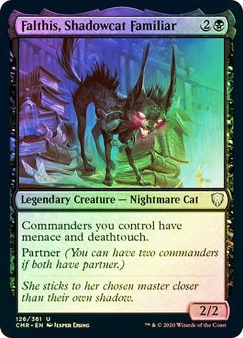 Falthis, Shadowcat Familiar (CMR) / Foil