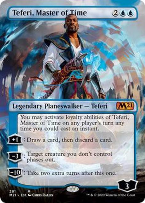 Teferi, Master of Time (Borderless) (M21)