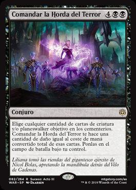 Command the Dreadhorde / Español