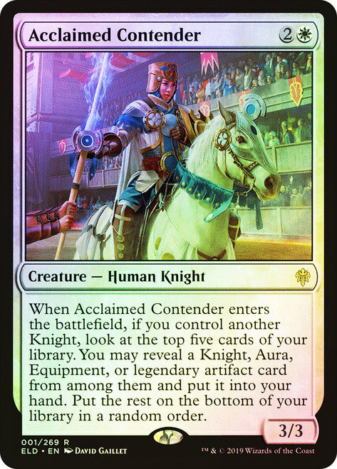 Acclaimed Contender / Foil