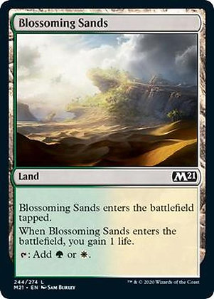 Blossoming Sands (M21)