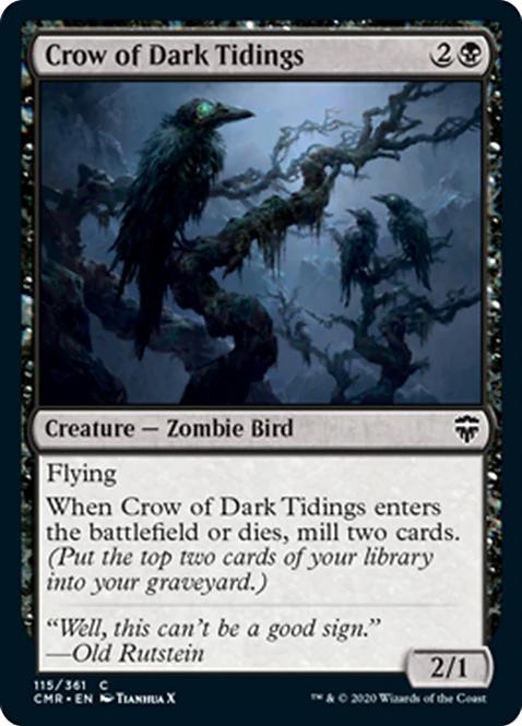 Crow of Dark Tidings (CMR)