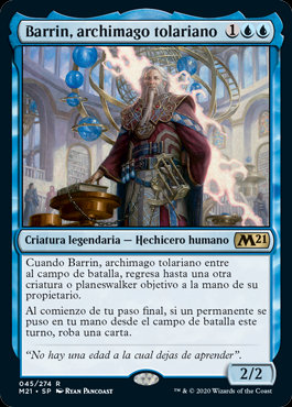 Barrin, Tolarian Archmage (M21) / Español
