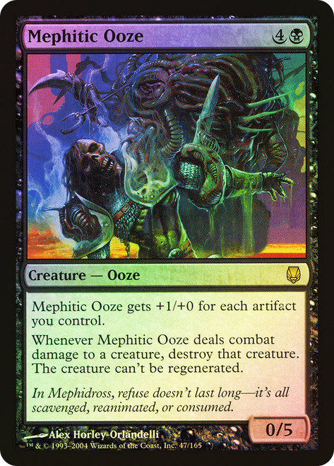 Mephitic Ooze (LJ) / Foil