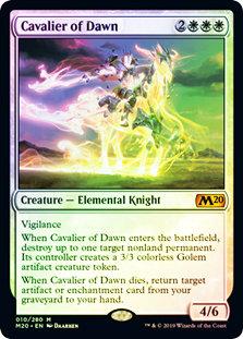 Cavalier of Dawn / Foil