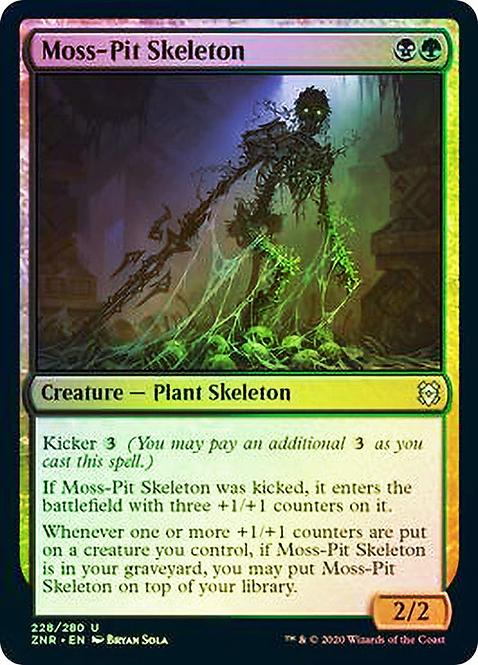 Moss-Pit Skeleton (ZNR) / Foil