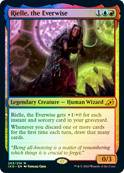 Rielle, the Everwise / Foil
