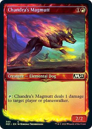Chandra's Magmutt (M21) / Showcase Foil