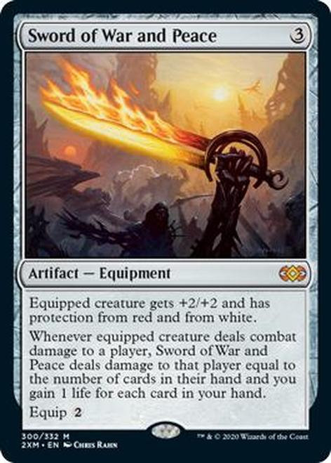 Sword of War and Peace (2XM)