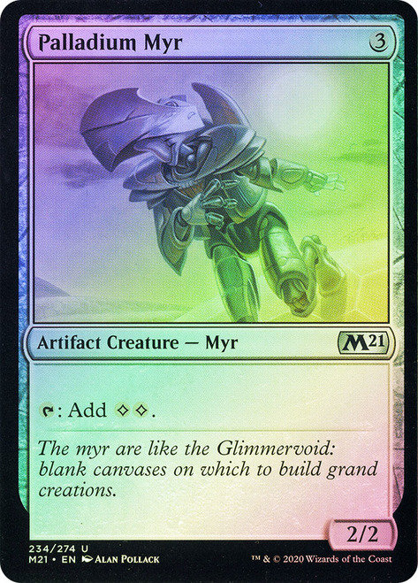 Palladium Myr (M21) / Foil
