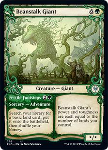 Beanstalk Giant / Alt Art