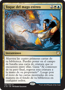 Aethermage's Touch (C18) / Español