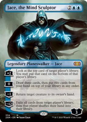 Jace, the Mind Sculptor (Borderless) (2XM)